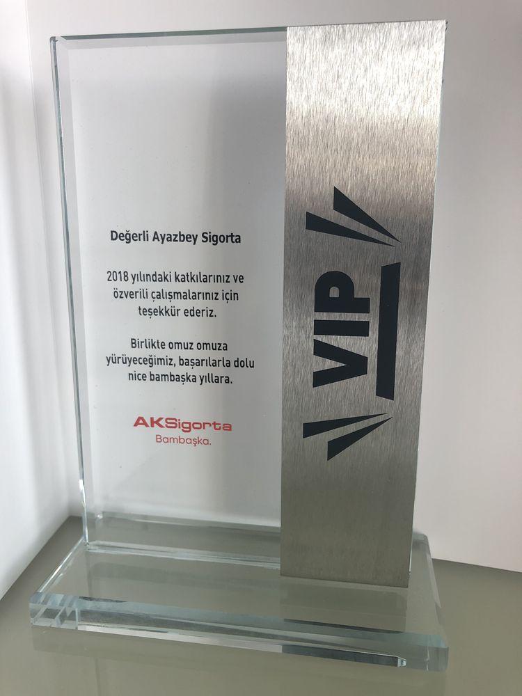 VIP ACENTE Ödülü